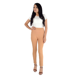 Skin Color Plain Leggings