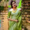 Fancy Linen Cotton Sarees