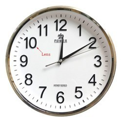 Skin 1280 X 720 Wall Clock Camera, For Security