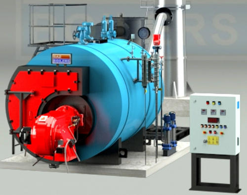 Saz Boiler Oil & Gas Fired Smoke Tube Type Steam Boiler, Rs 15000000 ...