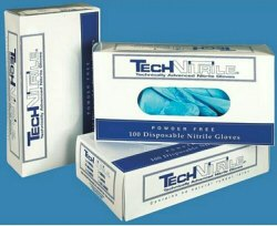 Nitrile Gloves Packing box