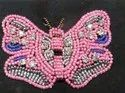 Pink Beaded Patches