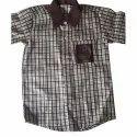 Collar Neck School Uniform Shirt