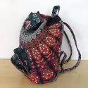 Handmade Vintage Backpack Bag