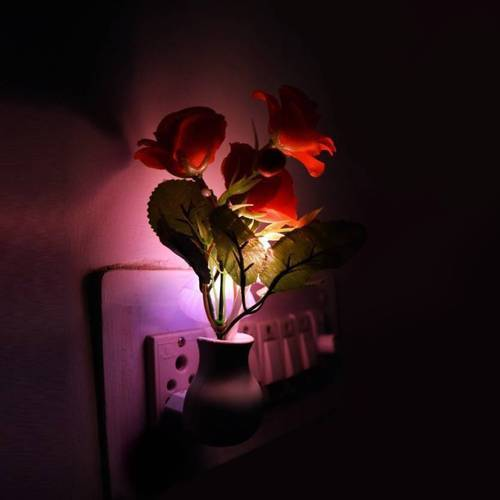 Plastic Lovato Mushroom Sensor LED Color Changing Wall Light Night Lamp  Multicolor, Mus, | ID: 20014378248