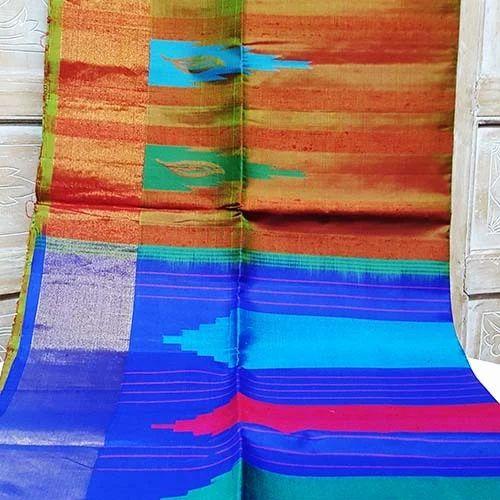 Silk Ladies Party Wear Saree, Packaging Type: Plastic Bag