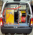 Manual Based Van Mounted Cable Fault Locating System