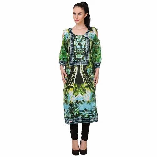 33d2e37065 Ladies Velvet Designer Kurti, Size: S, M, L, XL & XXL, Rs 799 /piece ...