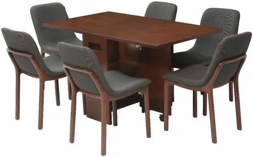 Hatil Wooden Folding Dining Table Set For Home Rs 83755 Set Id