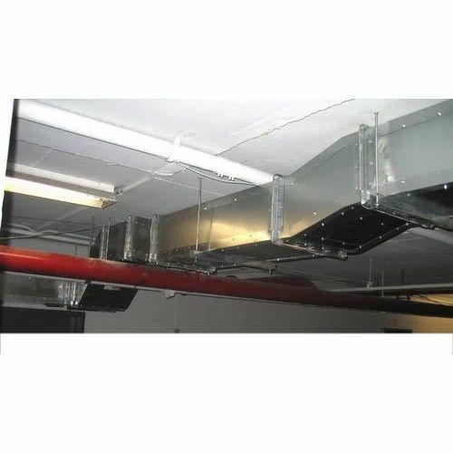 Restaurant Kitchen Ventilation System: Stainless Steel Restaurant Kitchen Exhaust System, Rs 105