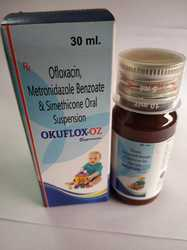 Ofloxacin Metronidazole Benzoate and Simethicone suspension