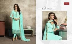 Georgotte Round Neck Full Sleeve Mahreen Salwar Suit