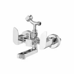 Wall Mixer Telephonic with Crutch(Provision for Hand shower)