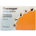 Phenergan Promethazine Hydrochloride 10 mg Tablets