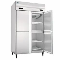 50 Hz Stainless Steel HRFW-127MS4 Refrigerator and Freezer, 230 V
