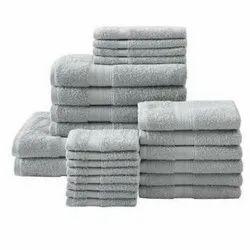 ABS Plain Cotton Bath Towel Set, Size: 30x60 inch