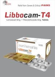 Lornoxicam with Thiocolchicoside Tablets