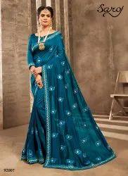 Ethnic Designer Silk Saree
