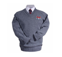 Grey School Uniform Pullovers