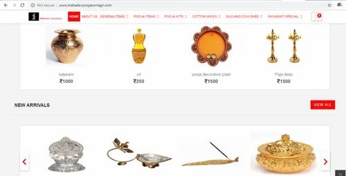 E-Commerce Enabled Online Puja Store, Exadata Consulting