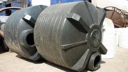 Black Storage Chemical Tanks