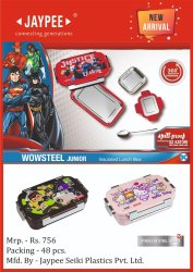 Wowsteel JR Insulated Lunch Box for Household