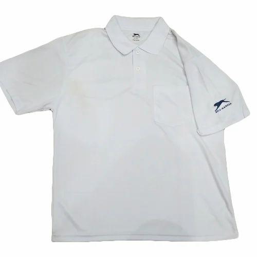 8036dd9dd833 Mens Half Sleeve Plain White T Shirt, Bachhawat Fashions | ID ...