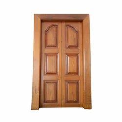 Teak Wood Double Door - Manufacturers & Suppliers of Pure Teak ...
