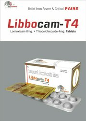 Lornoxicam 8mg Thiocolchicoside 4mg