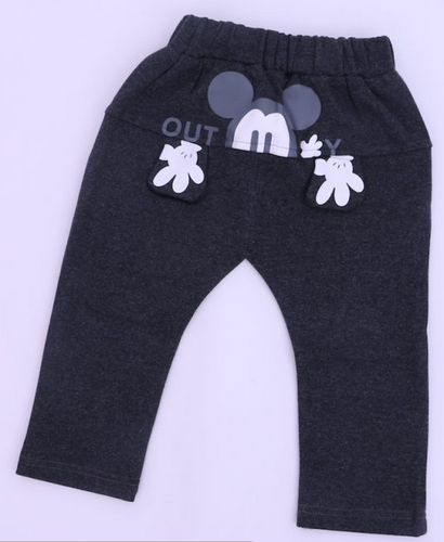 6f0c7e546a6f Grey Printed Mickey 3D Pants
