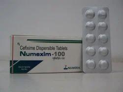 Cefixime 100 mg DT Tablet