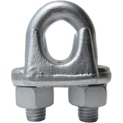 Wire Rope Clamp, Size: 2 Mm To 100 Mm, Material Grade: Steel