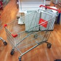 Stainless Steel Shopping Trolley 210 Ltr
