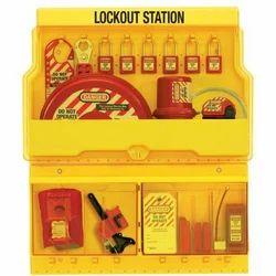 Yellow Lockout Station