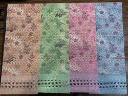 Cotton Chikankari Printed Embroidery Dress Fabric