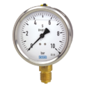 Pressure Gauge With Bottom Connection
