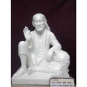 White Marble Lord Sai Baba Statue