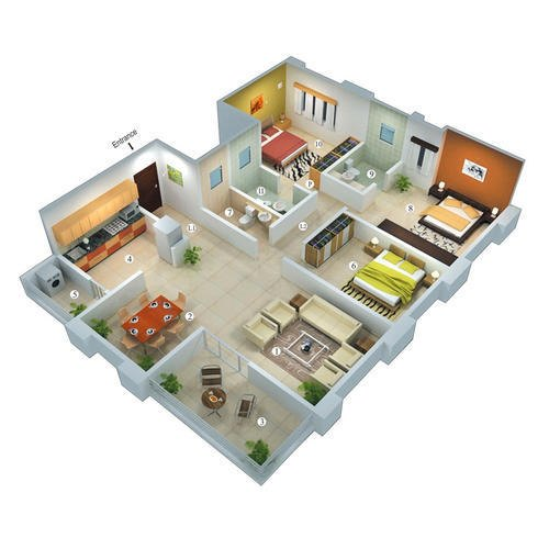 House Map Designing Services In Tagore