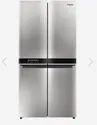 Whirlpool W Series 4 Door 677 Ltrs Saturn Steel Refrigerator