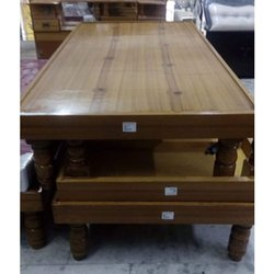 Brown Modern Wooden Single Bed, Features: Termite Proof