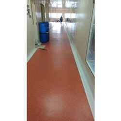 Planks Brown PVC Floor Covering