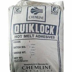 Yellow Quiklock Hot Melt Adhesive, 25 Kg