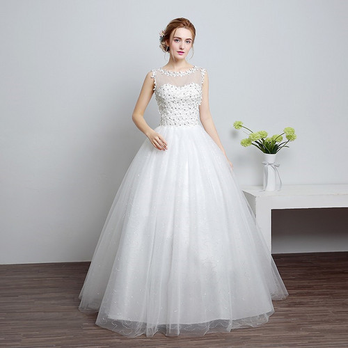 8f730f350d7c White Tulle And Imported Gownlink Christians Wedding Gown, Catholic Gowns ,  Wedding Frock Hs632