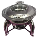 Stainless Steel Round Hydraulic Chafing Dish