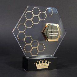 Safar London Foundation Crystal Trophy