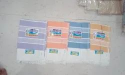 Multicolor Stripped Cotton Towels, For Home