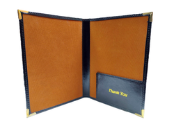 Leatherette Bill Folder