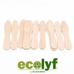 Biodegradable Wooden Ice Cream Spoon 75Mm (Loose Packing)