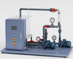 Pump In Series And Parallel Test Rig
