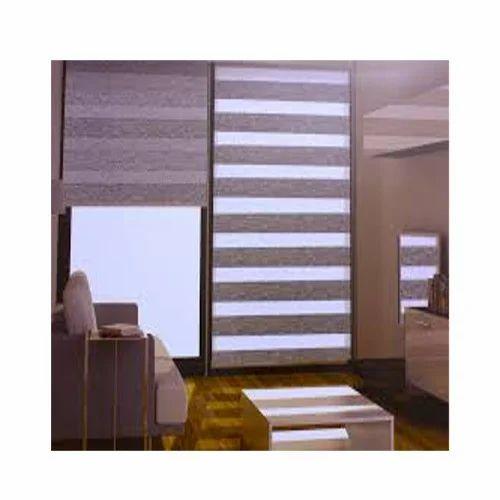 Plain Vertical Window Zebra Blind
